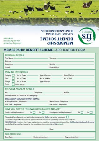 FRS Membership Benefit Scheme Application