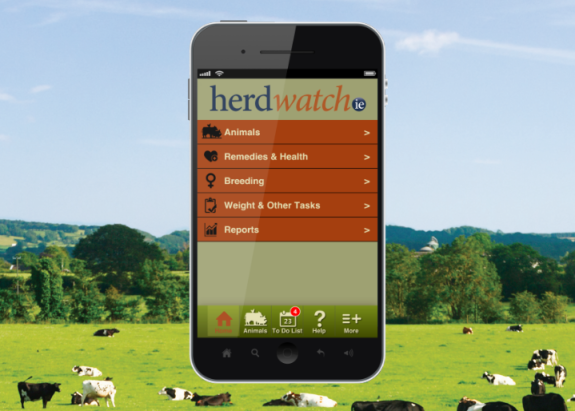 News: Our Herdwatch App will be on TV tonight.
