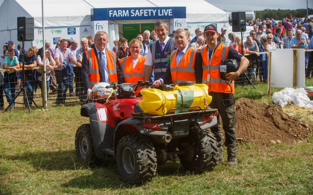 News: Farm Safety was very much Alive with the voice of Government at the Tullamore Show