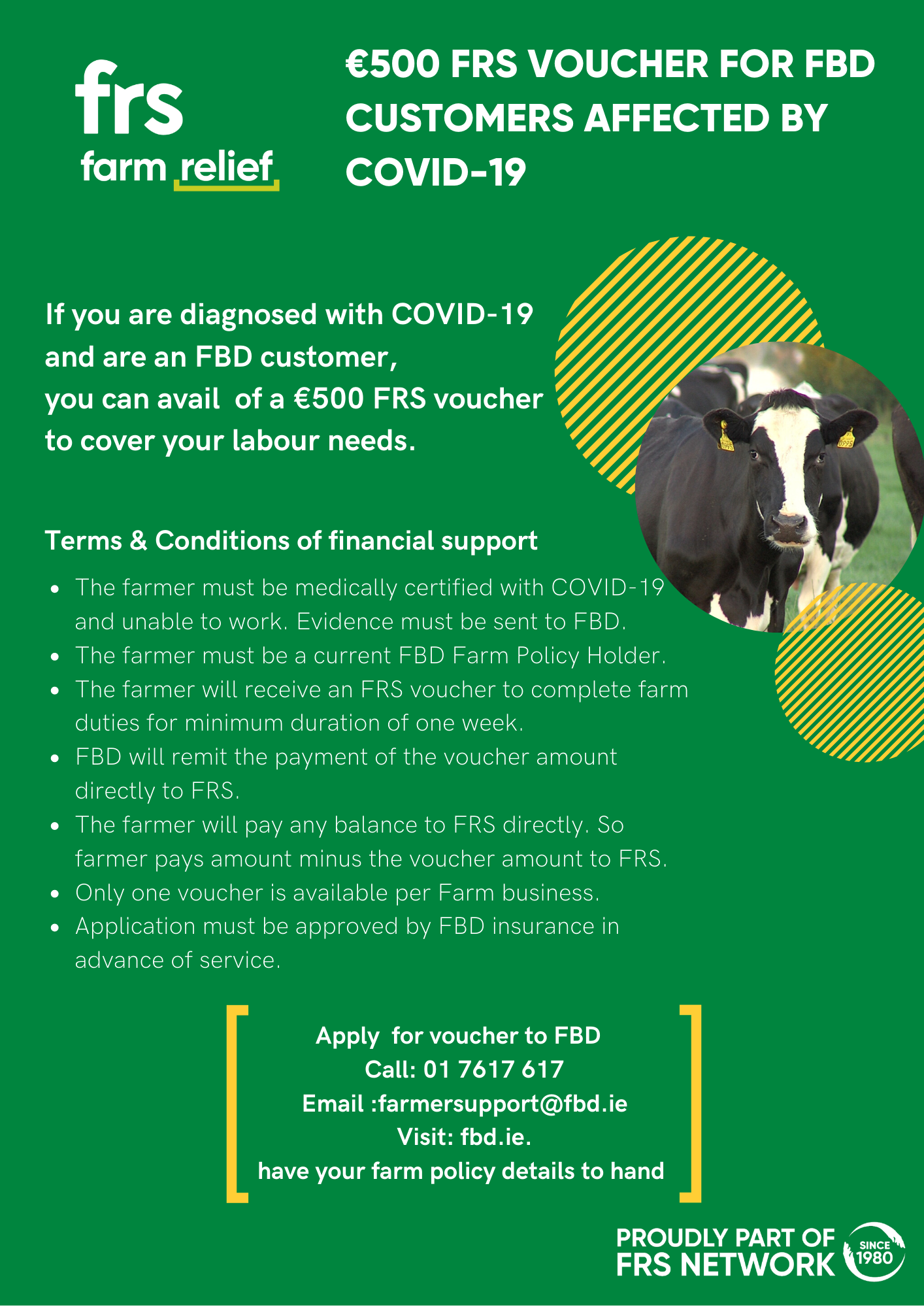 FRS voucher for FBD Customers Affected by Covid 19